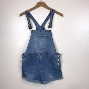 Encore Overall Shorts Size 15